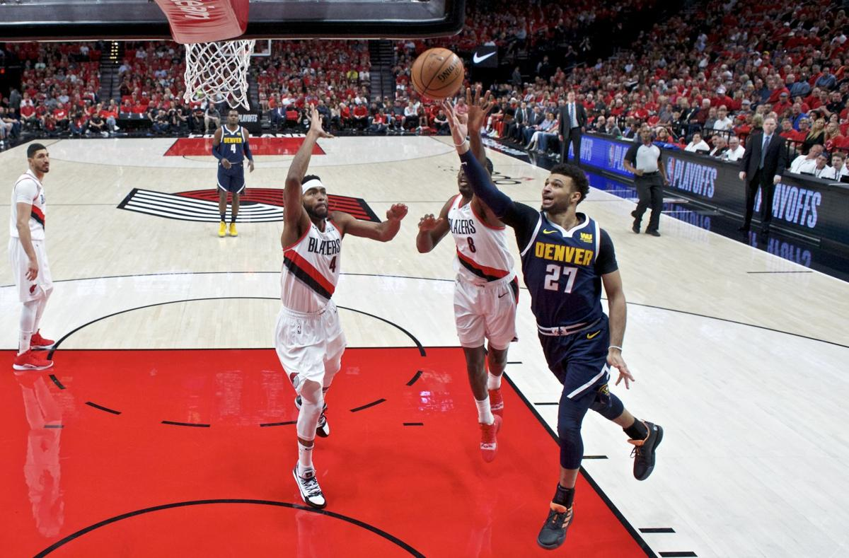 Nuggets Trail Blazers Basketball