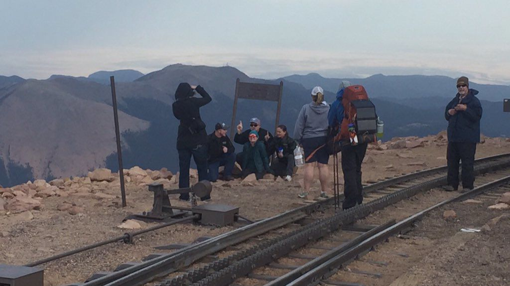 Double amputee reaches Pikes Peak summit after grueling three-day ascent