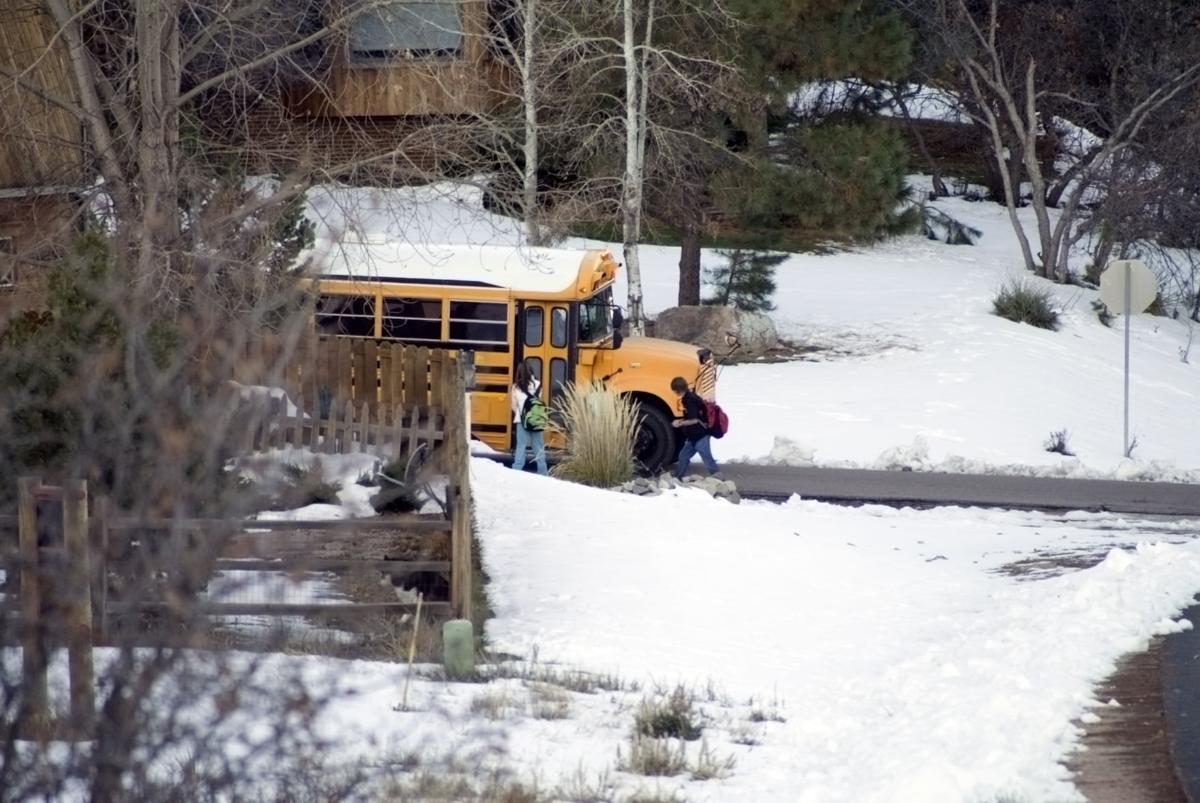 Boarding the Schoolbus Collorado