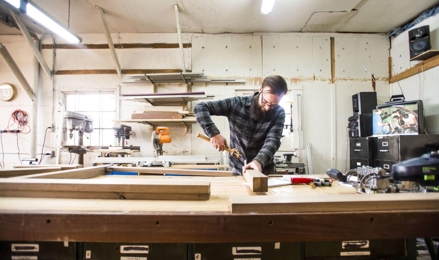 Colorado Springs Custom Furniture Business Provides U0027unique Solutionsu0027 In  Wood And Metal