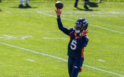 Denver Broncos OTA Football Bridgewater