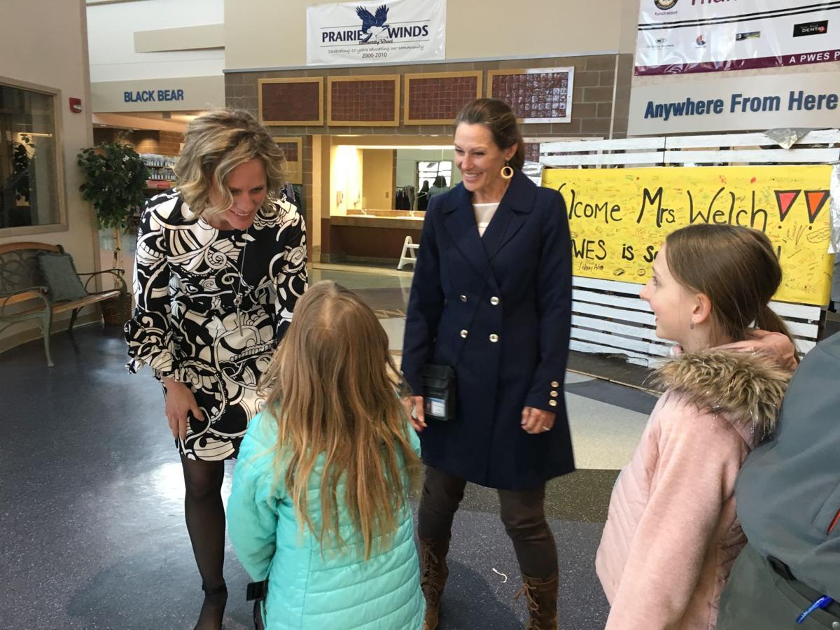 New Prairie Winds Elementary School Principal Alicia Welch