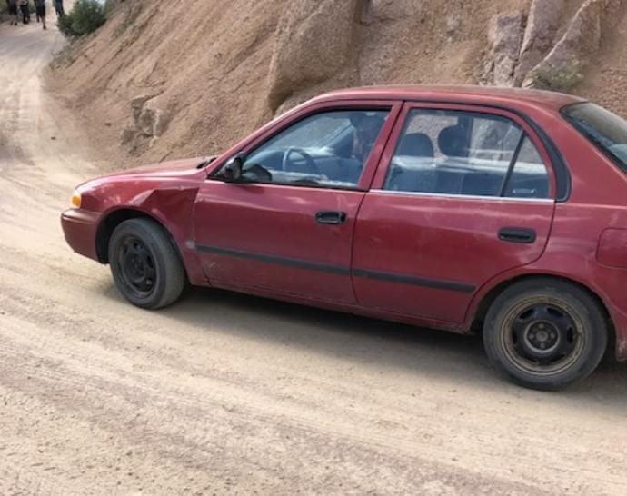 Daniel Nations vehicle