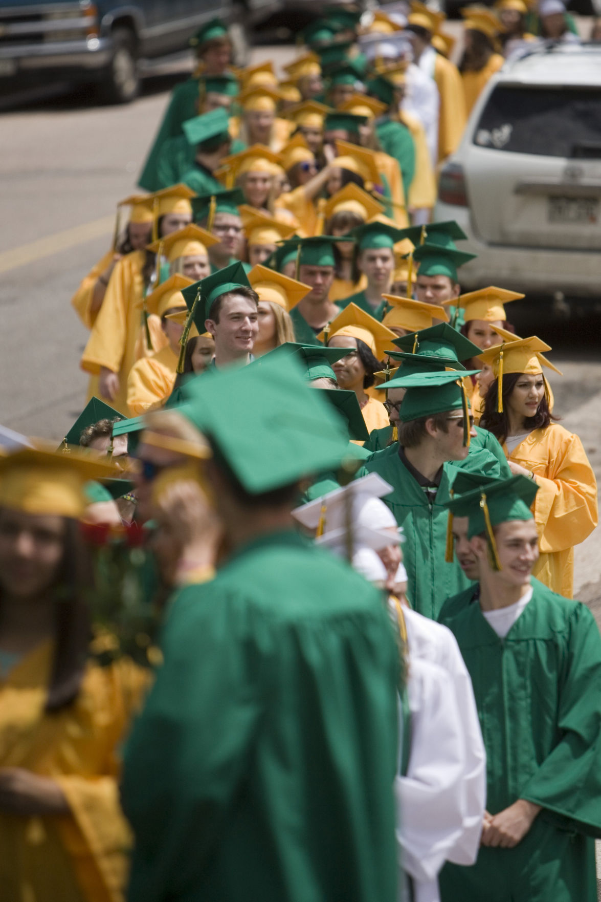2017 Manitou Springs High School Graduation