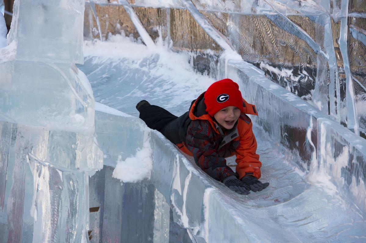 Ice Festival Cripple Creek 2020.Snow Sculptures Beer Frozen Corpses And Ski Joring