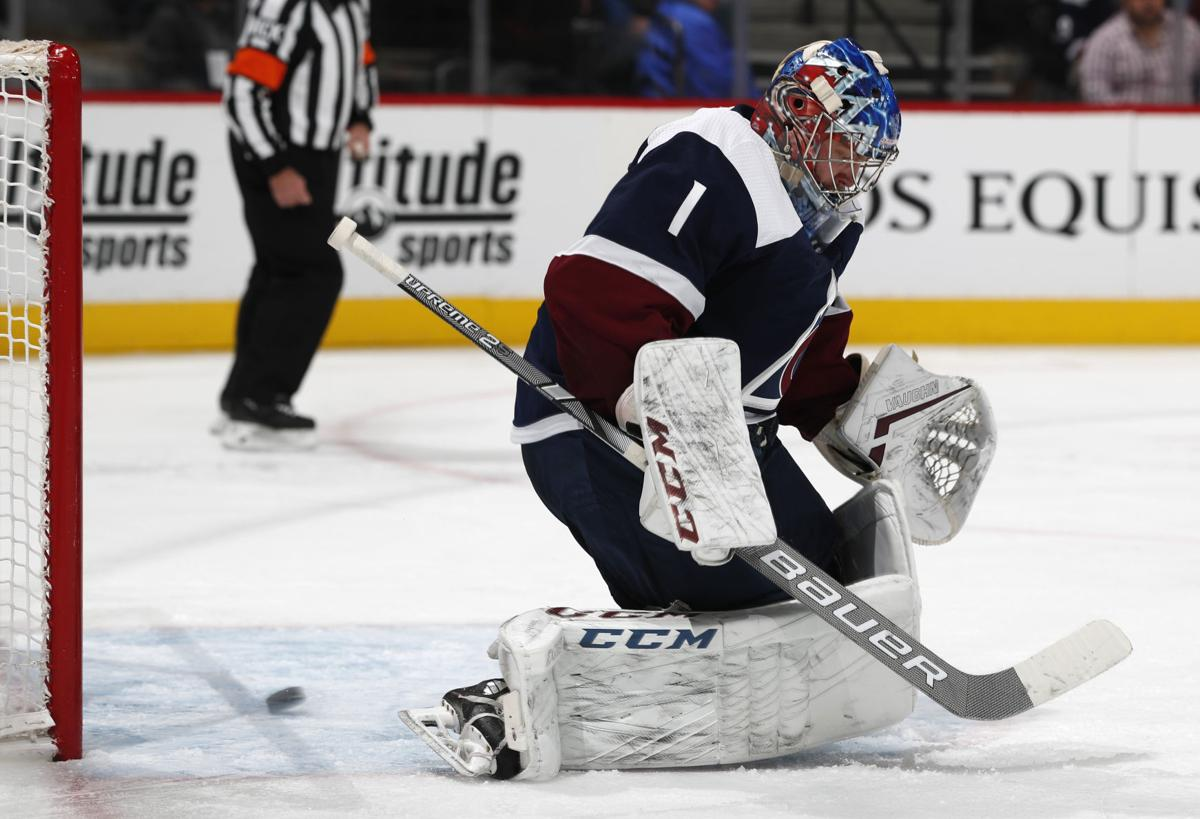 buy popular bf85d eb8a6 Paul Klee: Colorado Avalanche held back by shaky goaltending ...