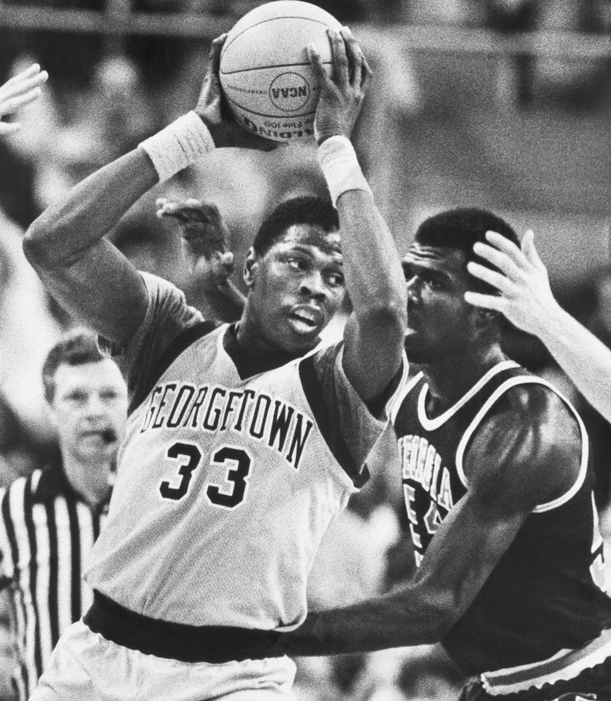 cheaper 50fd9 f106e Georgetown hires Patrick Ewing as men's basketball coach ...