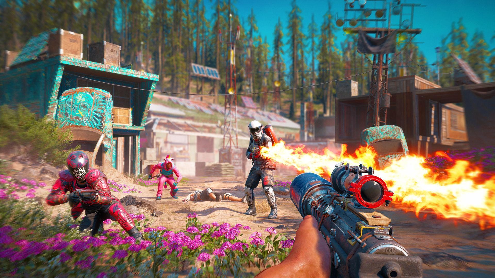 Video Game Haiku Review Far Cry New Dawn Arts