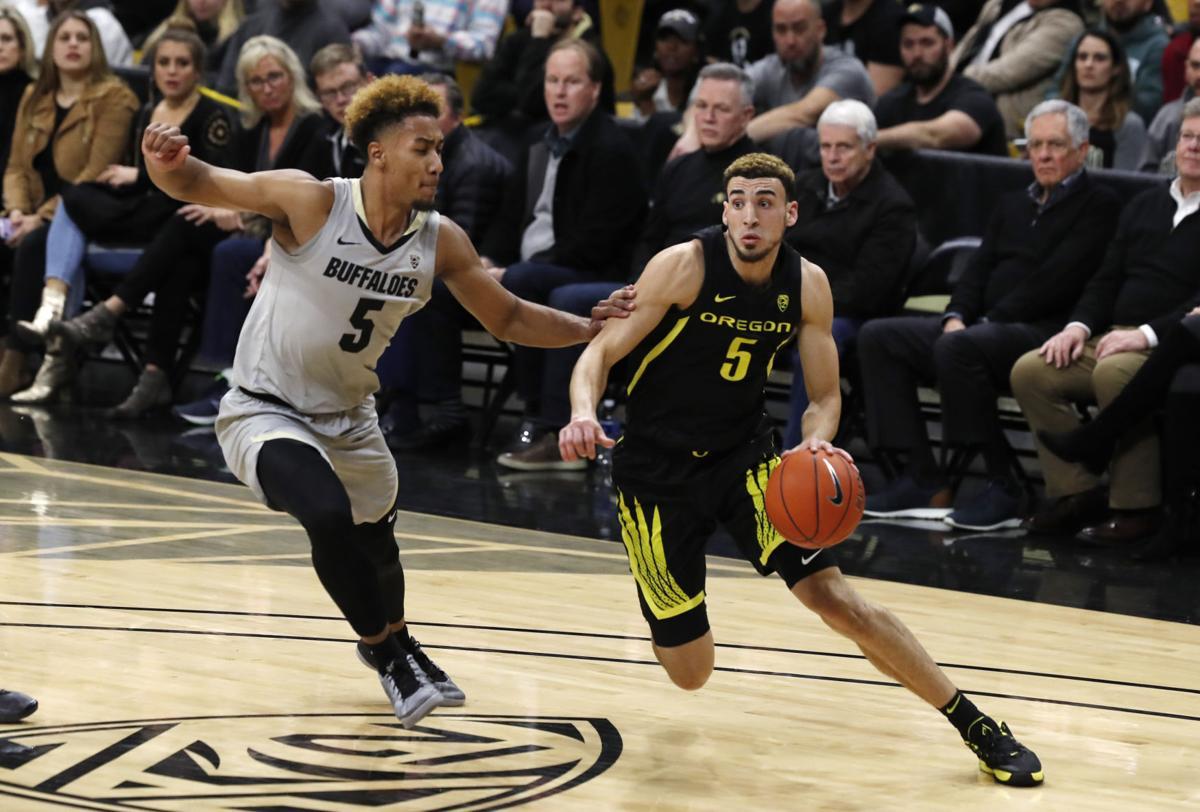 Oregon Colorado Basketball