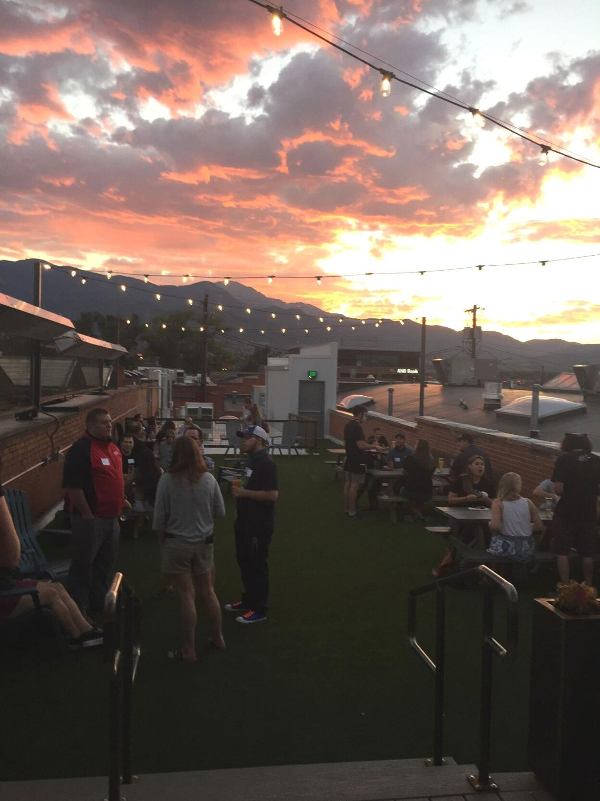 Pikes Peak Brewing Lager house, soft opening night