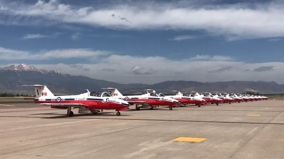 Canadian military aerobatics team to fly over Colorado Springs