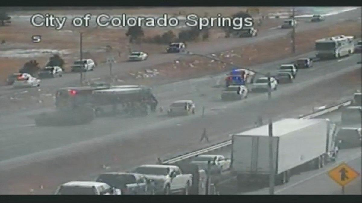 Accident On I 25 Today In Colorado Springs