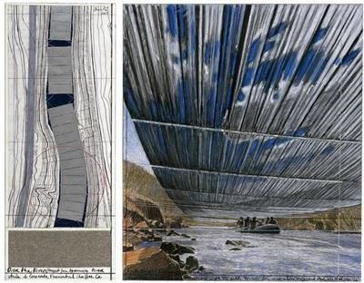 Artist Christo says 'Over the River' project at a standstill