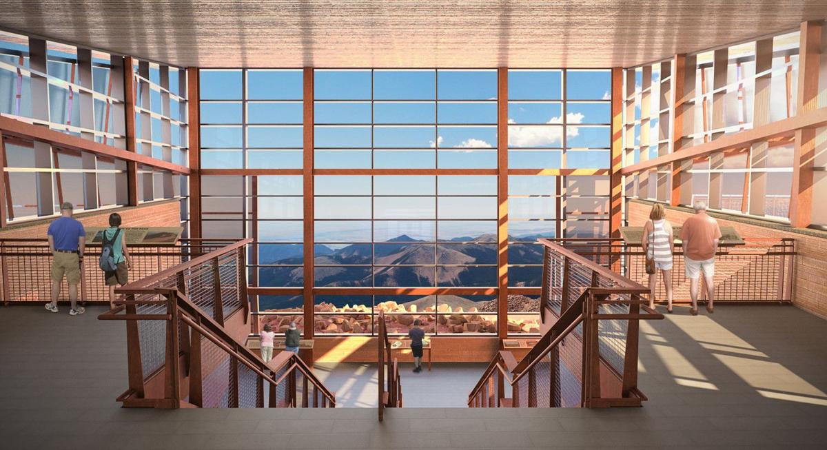 Pikes Peak Summit House construction begins with a boom atop America's Mountain
