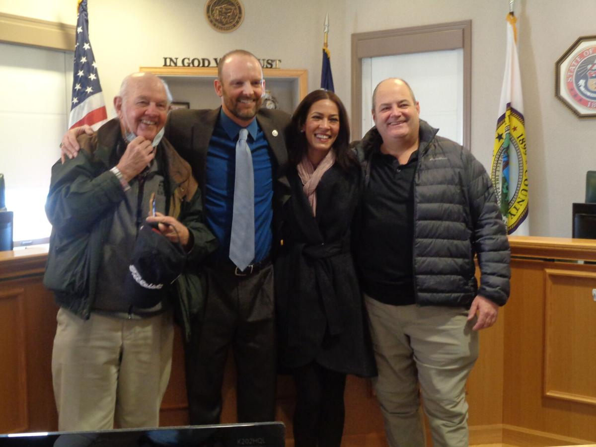 Support on Teller County commissioners' last day