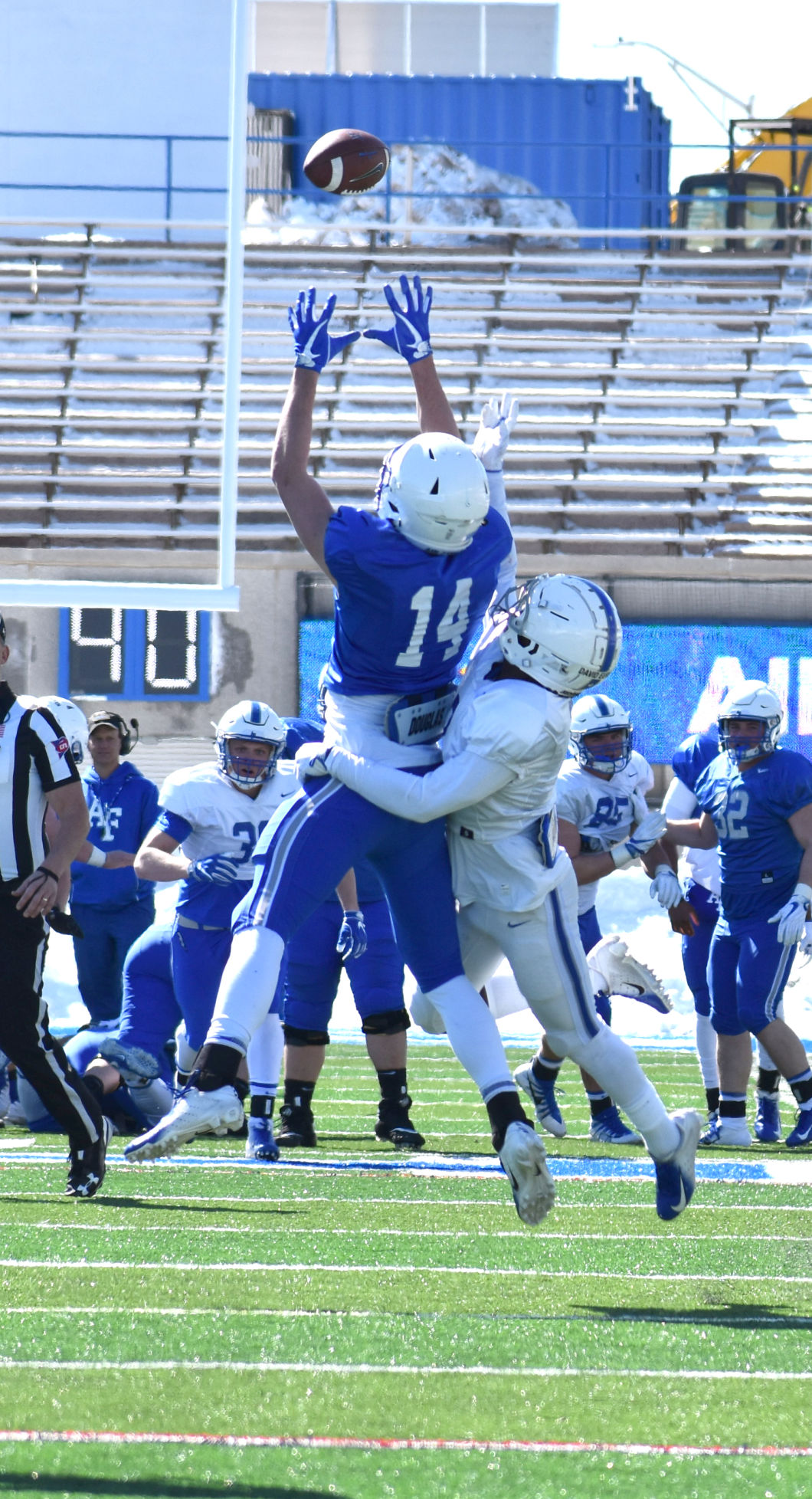 Air Force football holds spring scrimmage