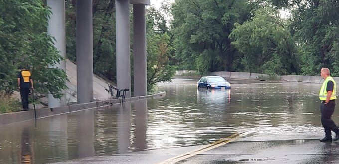 trapped car hancock 7-31