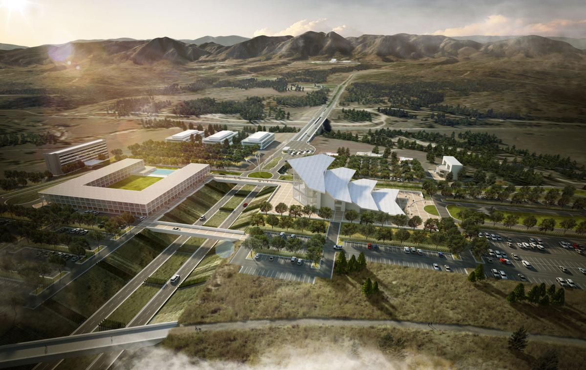 'Gateway to Colorado Springs' : Air Force Academy unveils first look at its new visitor center