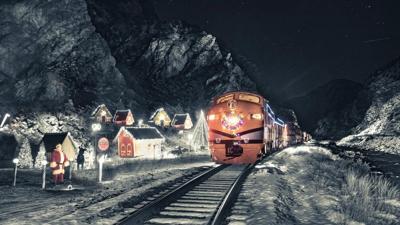 Santa Express Train ride Photo Credit: Royal Gorge Route Railroad.