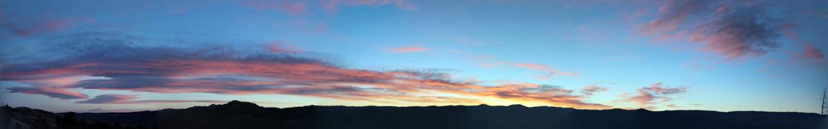 Sunrises over Teller County
