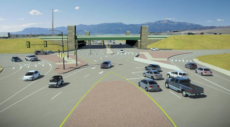 Powers Boulevard and Research Parkway Interchange Design