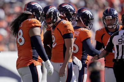 Jets Broncos Football McManus, Purcell