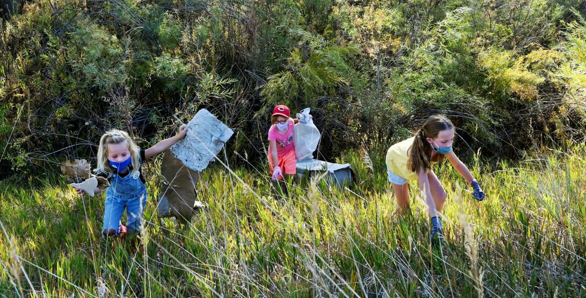 Girl Scouts clean up for Creek Week