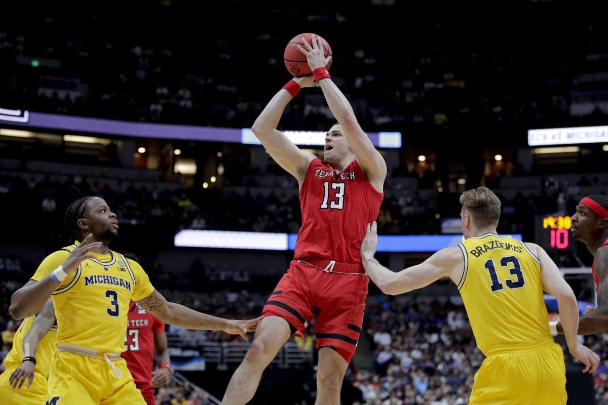 NCAA Texas Tech Michigan Basketball