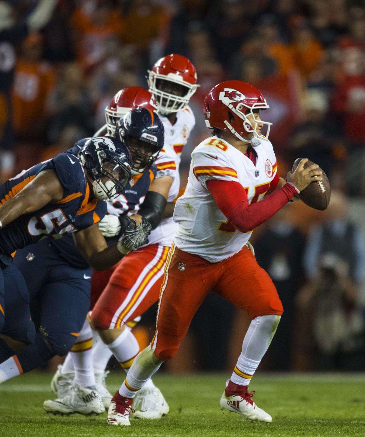 387e6eb5b Paul Klee  Patrick Mahomes proves his point — Broncos should have drafted a  quarterback