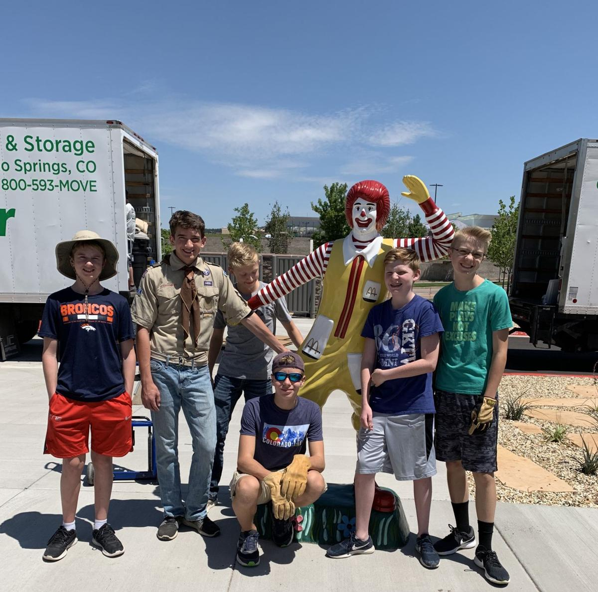 Briargate teen helps prep Springs' newest Ronald McDonald House for opening