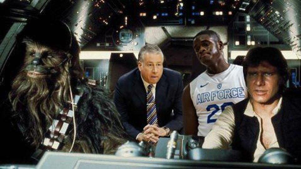 Chronicling Air Force's basketball season through 'Star Wars' quotes