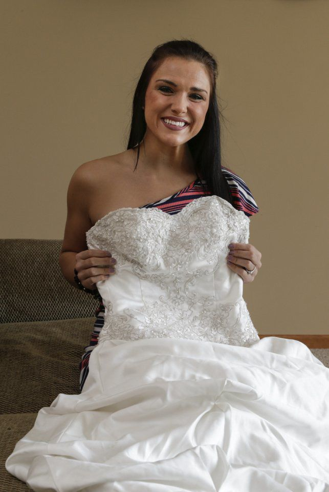 Nebraska Woman Lends Her Wedding Dress To Brides On A Budget