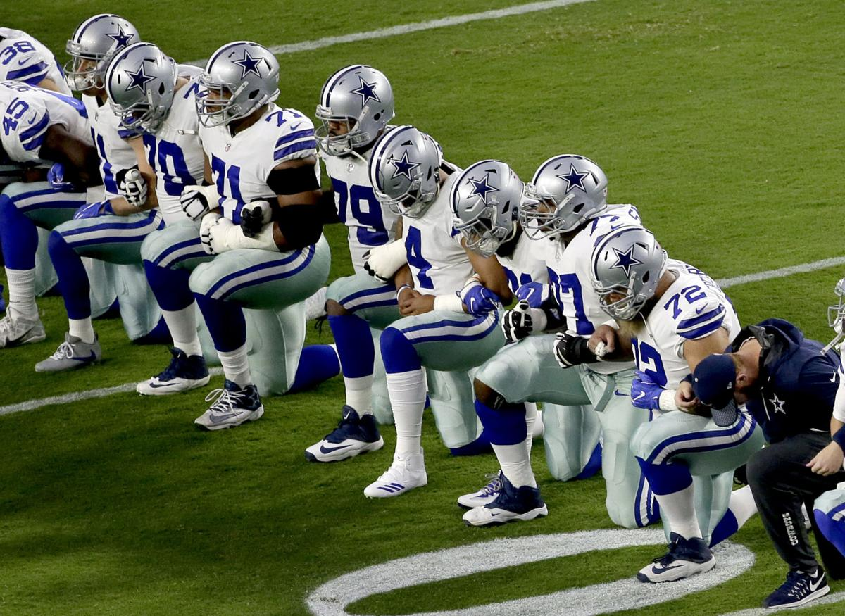 separation shoes 2113b 62ba4 Military veterans, NFL players disagree about anthem ...