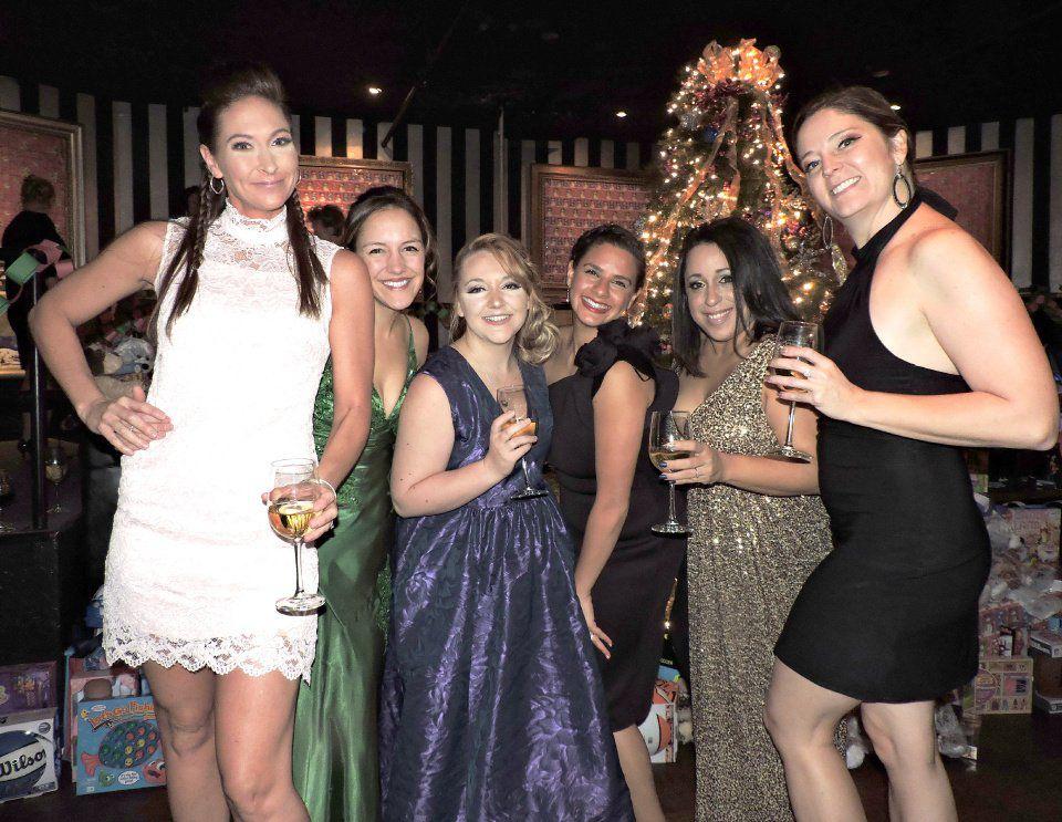 YOT Club: Joni Williams, Dradi Wicklund, Shanon Wright, Jessica Squatrito, Mairis Maestas, Laura Hill 111817 Photo by Linda Navarro