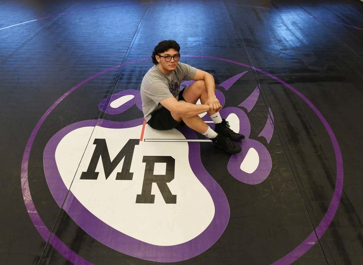 Mesa Ridge wrestler wrestler Jared Volcic