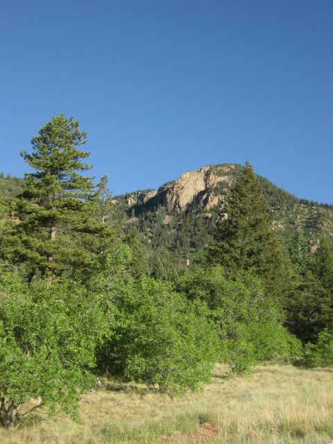 Blodgett Peak, Blodgett Open Space