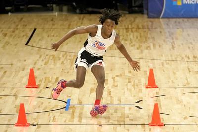 NBA Draft Combine Basketball Dosunmu