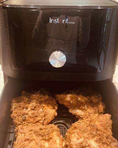 Colorado Springs vegan cookbook author recommends Instant Pot air fryer