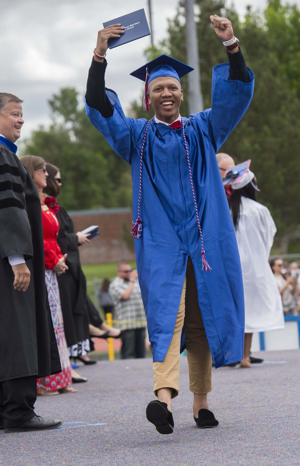 Highlights of the Fountain-Fort Carson High School commencement for the Class of 2017 Saturday, May 27, 2017, at Fountain-Fort Carson High School. (The Gazette, Christian Murdock)