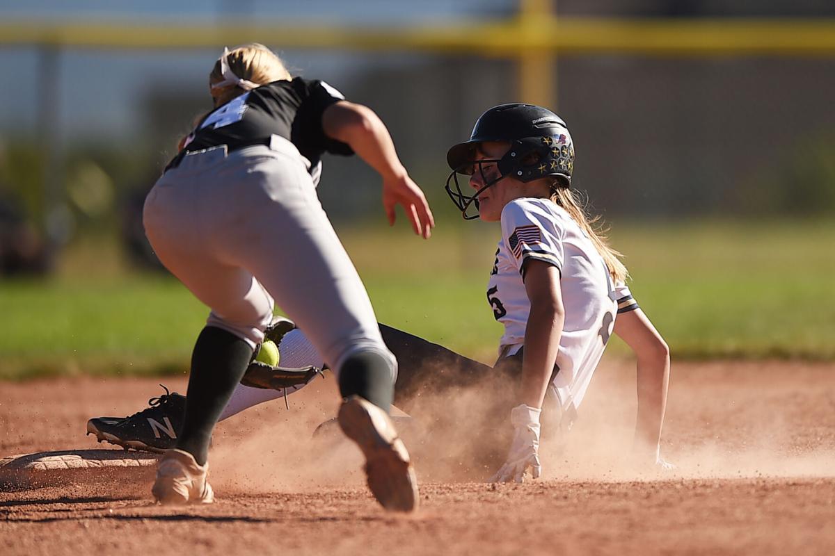 Palmer Ridge, Discovery face off on the softball diamond