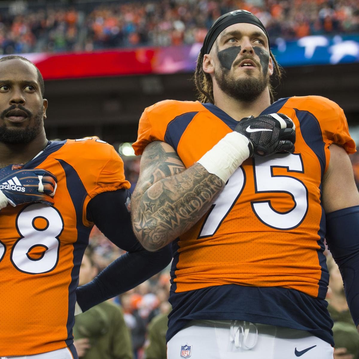 brand new 7f4d5 1e860 Paul Klee: Derek Wolfe still chugging for Broncos — through ...