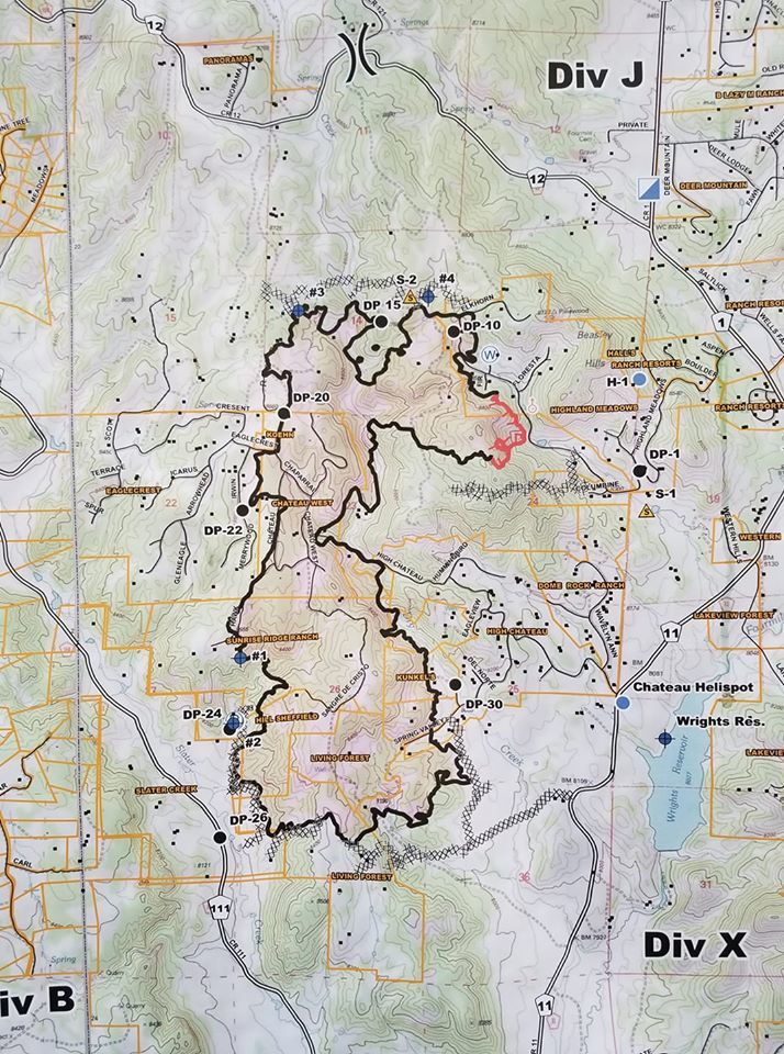 Last Of High Chateau Fire Evacuees To Be Allowed Home Friday Crews