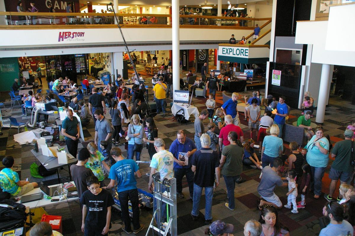 Mini Maker Faire aerial