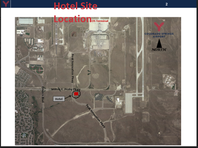 Airport hotel site map