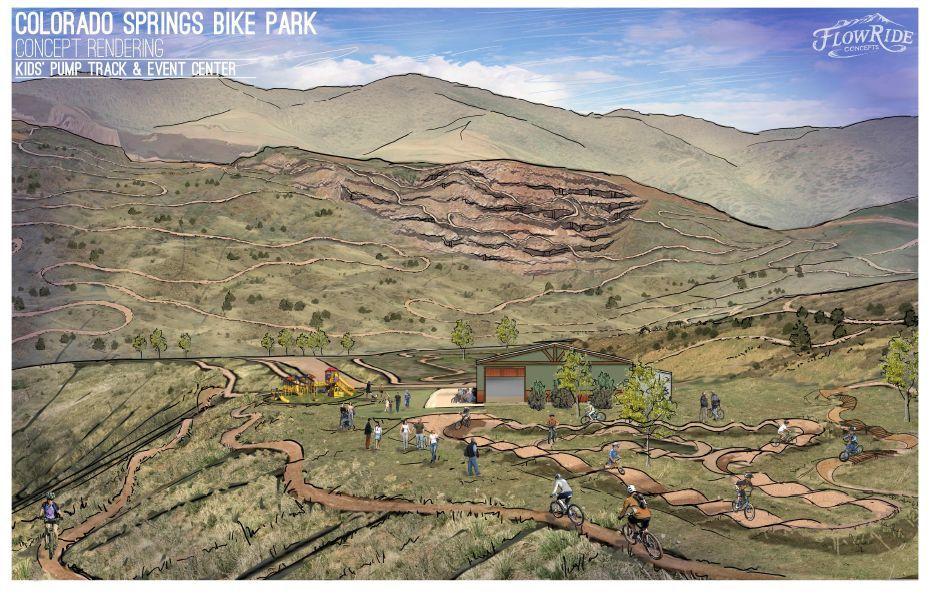 Pikeview Quarry's history of rockslides raises doubts about bike park proposal (copy)