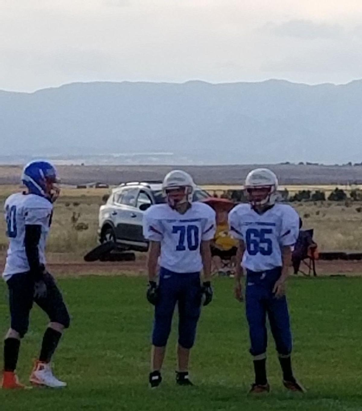 CCV Pioneers junior high football team takes down Hanover Hornets