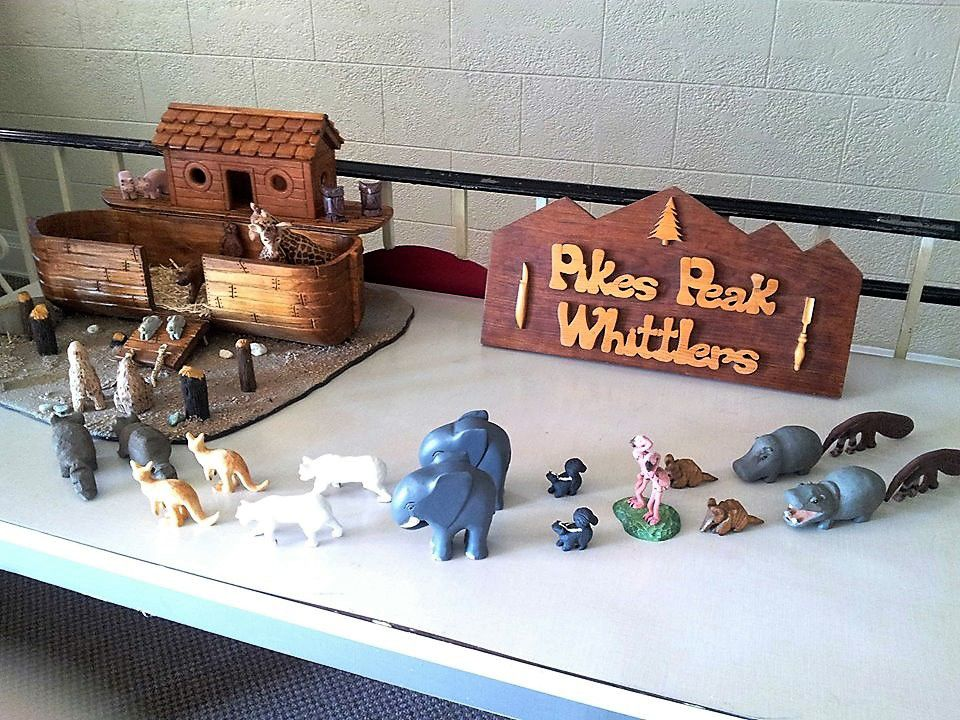 Pikes Peak Whittlers host annual woodcarving, woodworking show