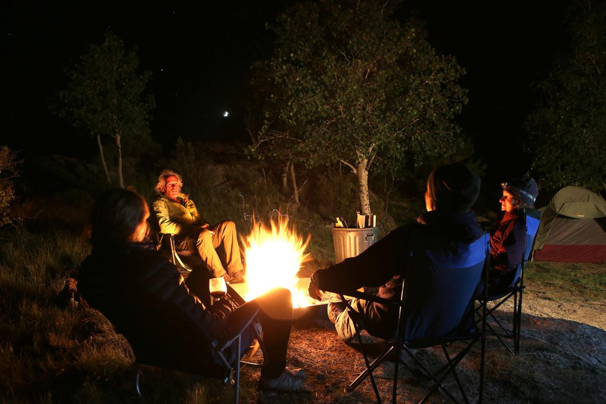 Winter camping Colorado Parks and Wildlife (copy)