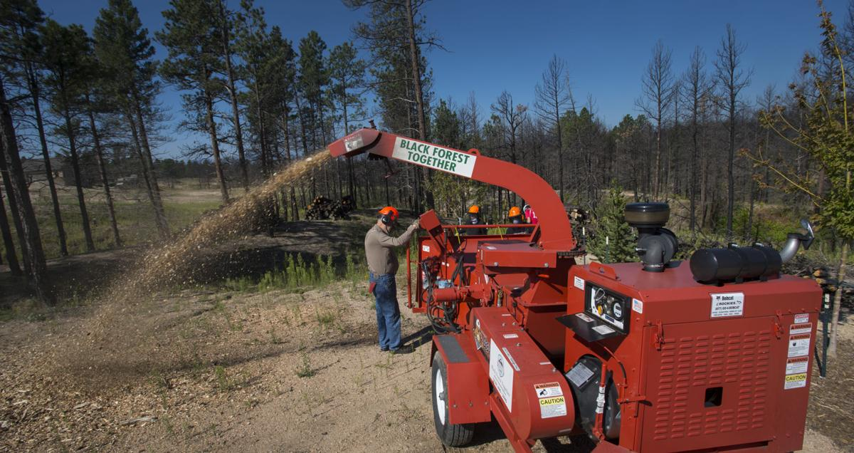 Volunteer power has been crucial to rebuilding Black Forest