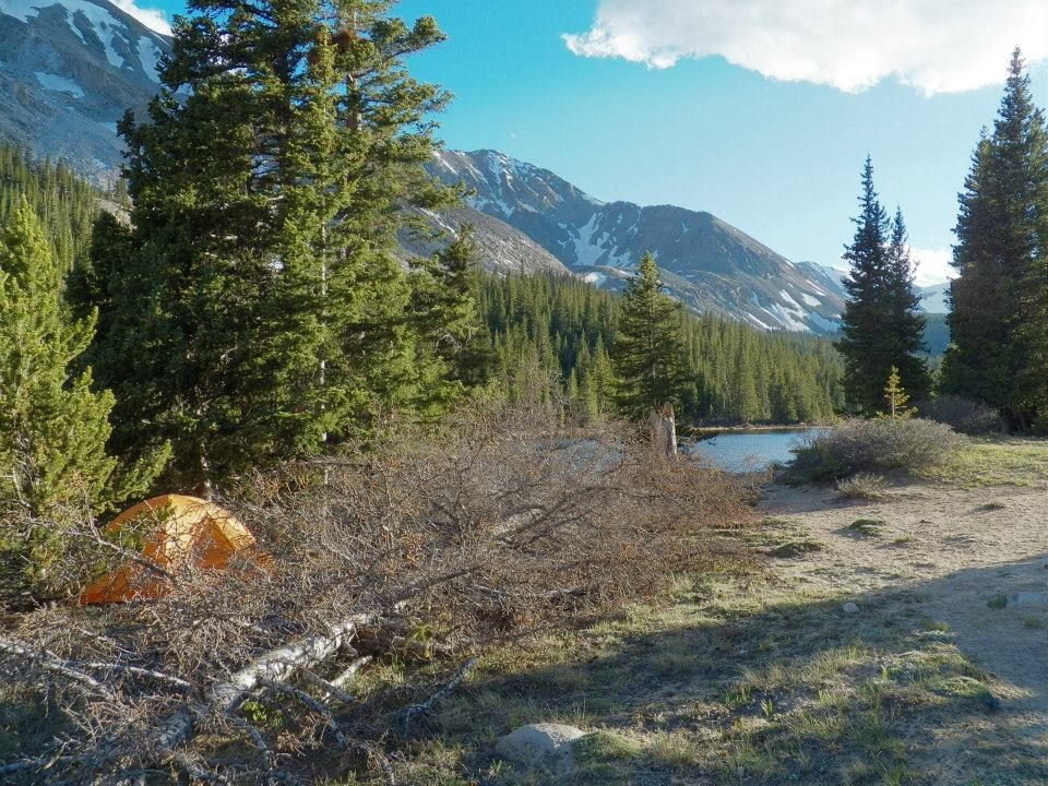 A tent with a view: The best backcountry camping in ...